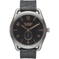 Mens Nixon The C45 Leather Watch