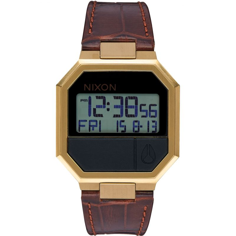 Unisex Nixon The Re-Run Leather Watch