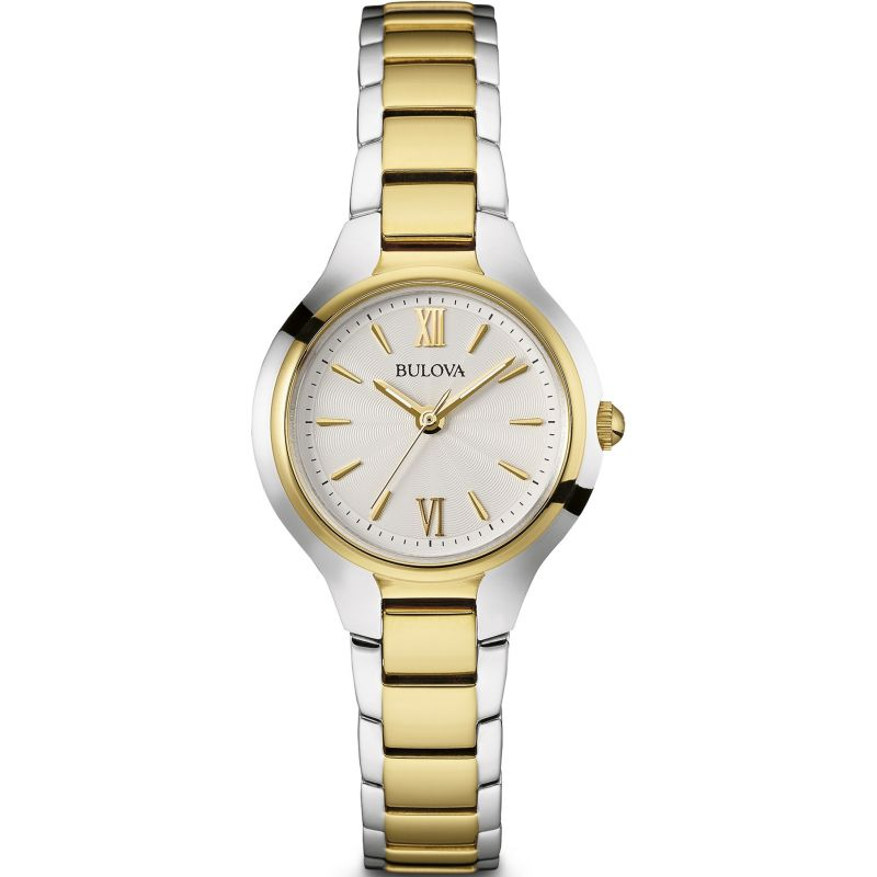 Ladies Bulova Quartz  Stainless Steel Watch 98L217
