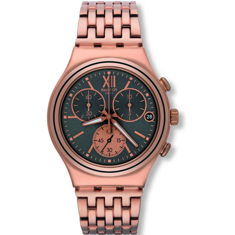 Unisex Swatch Irony Chrono Chronograph Watch YCG412G