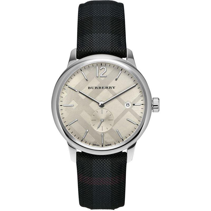 Round Watch Bu10008 Mens Burberry Classic wO0P8nkNXZ