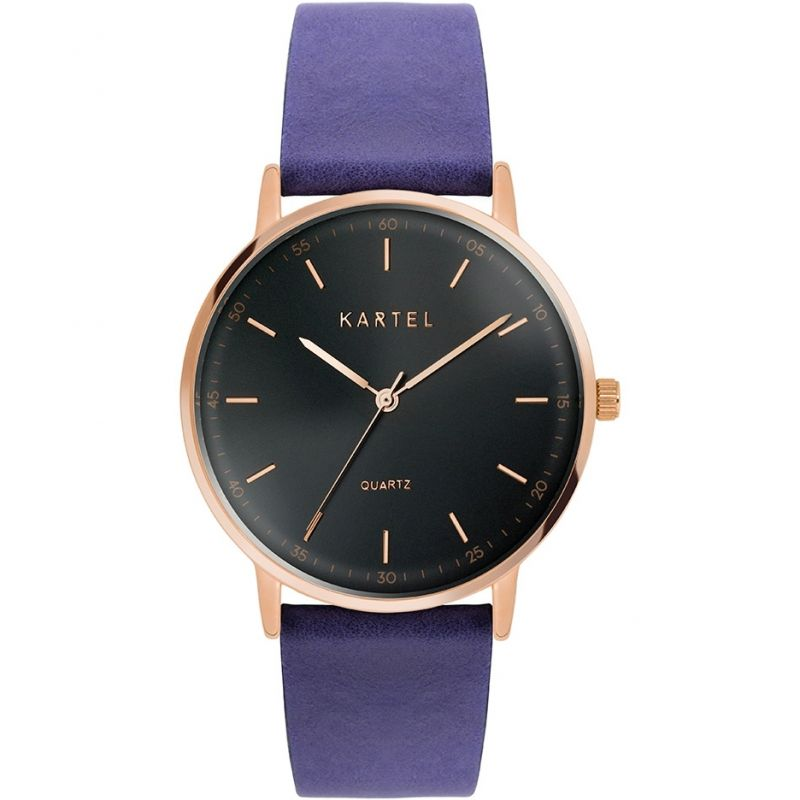 Unisex Kartel Scotland Hume 40mm Watch KT-HUME-RGBS