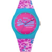 Ladies Superdry URBAN FLORAL Watch