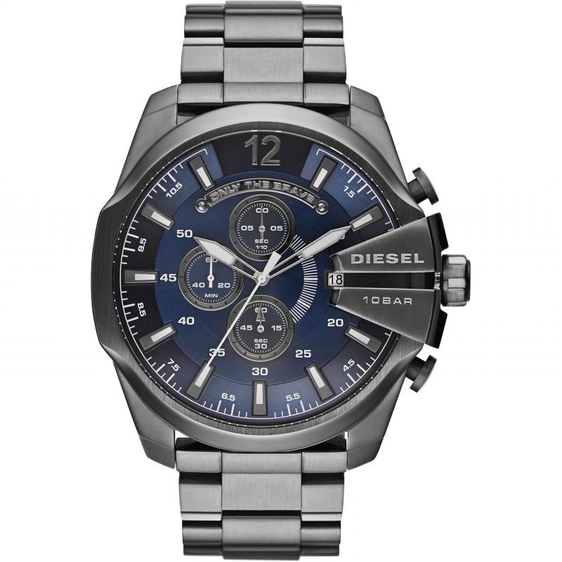 Mens Diesel Mega Chief Chronograph Watch DZ4329