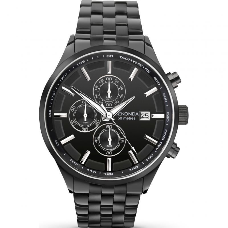 Mens Sekonda Chronograph Watch 1158