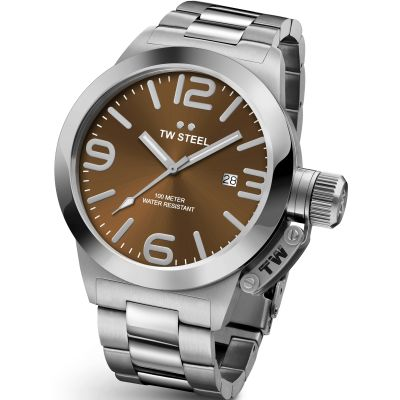 Mens TW Steel Canteen 45mm Watch CB0021