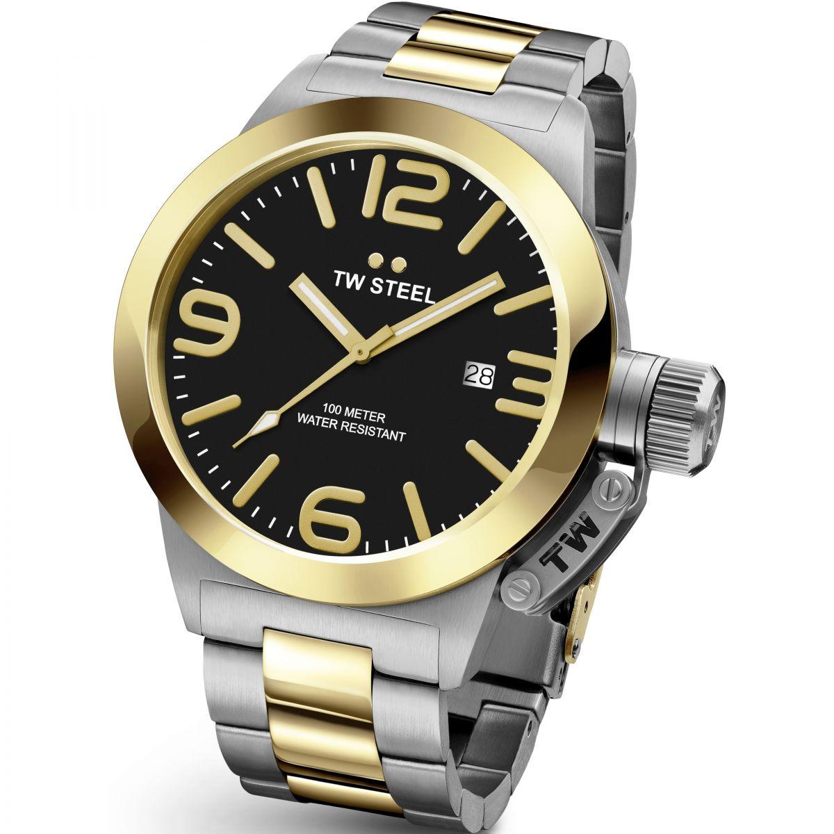 43de1c9a16 TW Steel Canteen   Reloj para Hombre Bicolor CB0041   ES   Watch Shop™