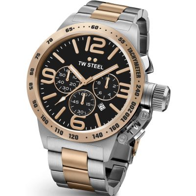 Mens TW Steel Canteen Chronograph 45mm Watch CB0133