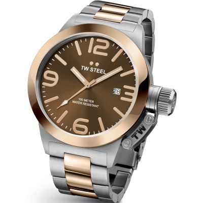 Mens TW Steel Canteen 45mm Watch CB0151