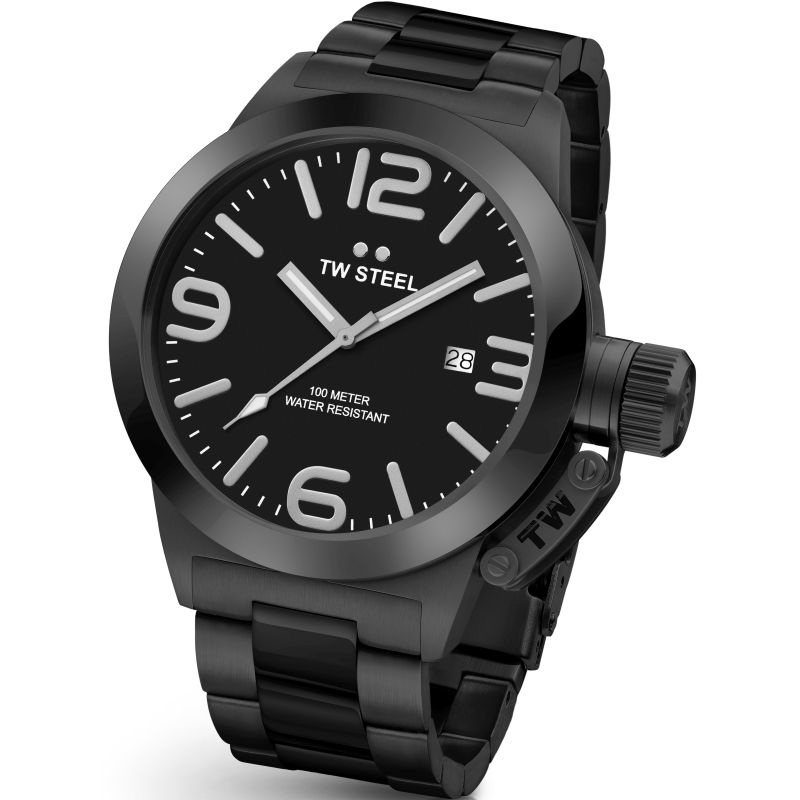 Mens TW Steel Canteen 45mm Watch CB0211