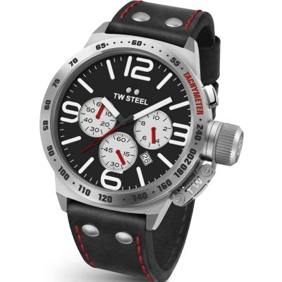 Mens TW Steel Canteen Chronograph 45mm Watch CS0007
