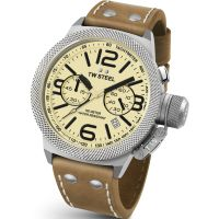 Mens TW Steel Canteen Chronograph 45mm Watch CS0013