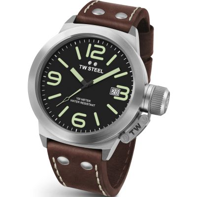 TW Steel Canteen Herrenuhr in Braun CS0021