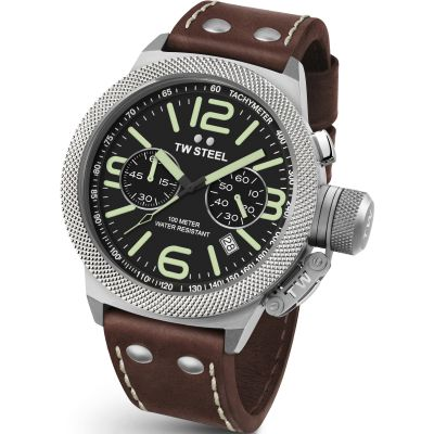 Mens TW Steel Canteen Chronograph 50mm Watch CS0024