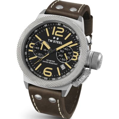 Mens TW Steel Canteen Chronograph 50mm Watch CS0034