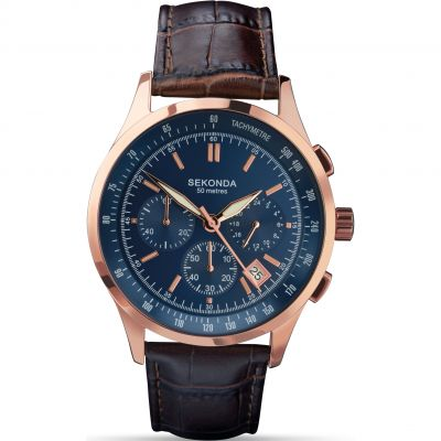 Mens Sekonda Chronograph Watch 1157