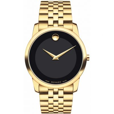 Mens Movado Museum Classic Watch 0606997