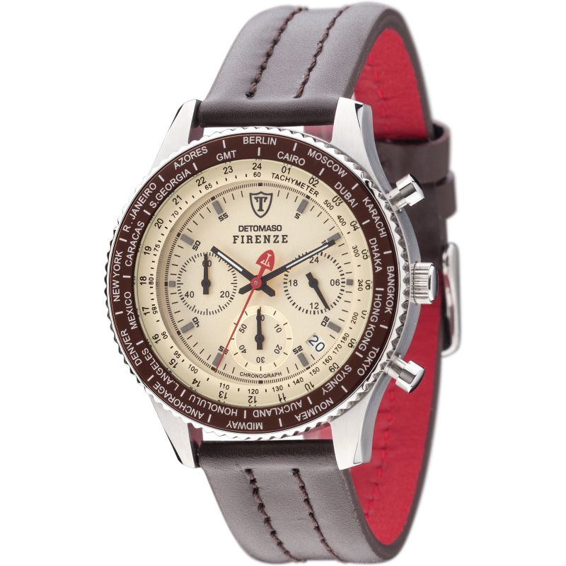 Mens Detomaso Firenze Chronograph Watch SL1624C-BG