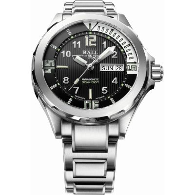 Ball Engineer Master II Diver Herenhorloge Zilver DM3020A-SAJ-BK