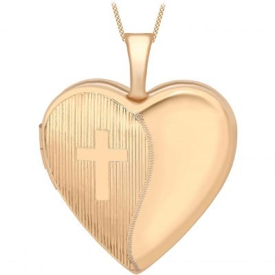 Jewellery Essentials Dames Heart Locket 9K Rose Goud AJ-14010036