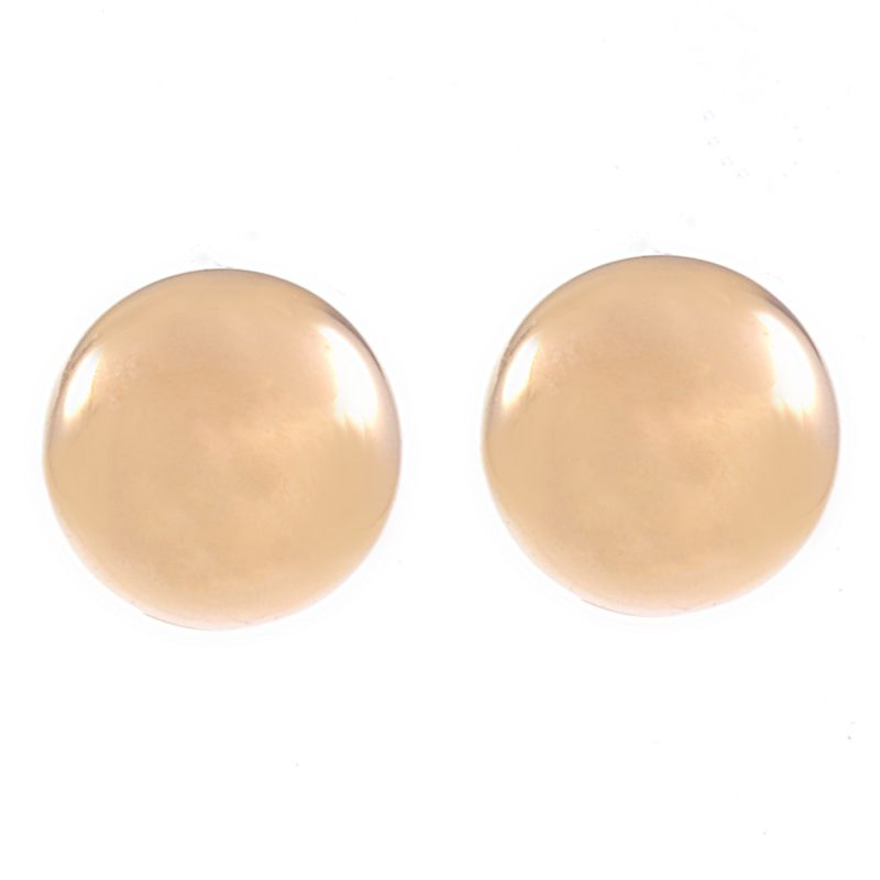 Ladies Essentials 9ct Gold 6mm Stud Earrings AJ-15010171