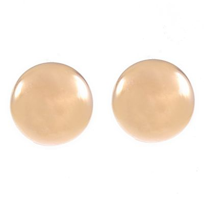 Damen Jewellery Essentials 6mm Stud Ohrringe 9 Karat Gold AJ-15010171