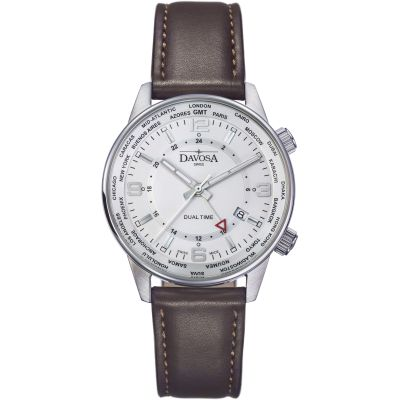 Mens Davosa Vireo Dual Time Watch 16249215