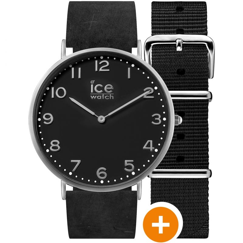 Mens Ice-Watch Ice City 36mm Watch CHL.A.BAR.36.N.15