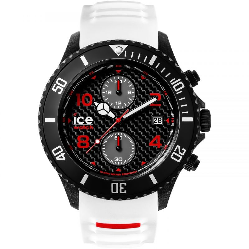 Mens Ice-Watch Ice-Carbon Big Big Chronograph Watch
