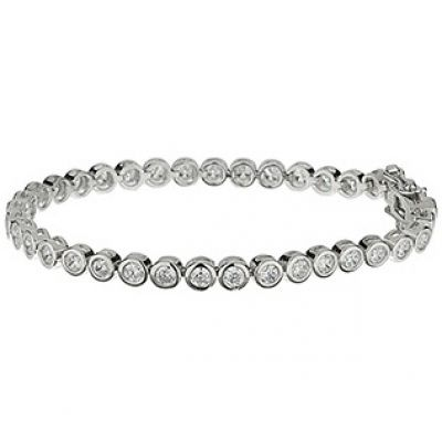 Damen Jewellery Essentials Cubic Zirconia Armband Sterling-Silber AJ-37230017