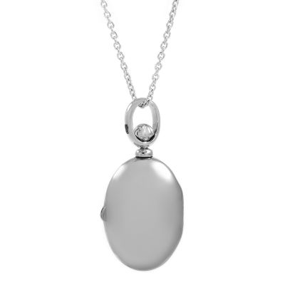 Jewellery Essentials Dames Locket Pendant Sterling Zilver AJ-37230863