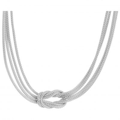 Damen Jewellery Essentials Knot Halskette Sterling-Silber AJ-37230873