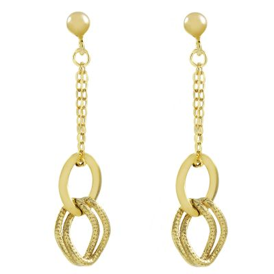 Gioielli da Donna Jewellery Essentials Italian Link Earrings AJ-15010214
