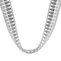 Ladies Essentials Sterling Silver Multi Link Necklace AJ-37230895