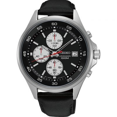 Mens Seiko Chronograph Watch SKS485P1