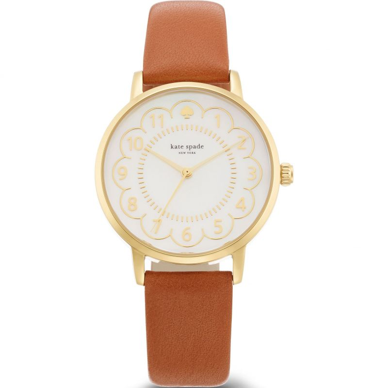 Ladies Kate Spade New York Scallop Metro Watch 1YRU0835