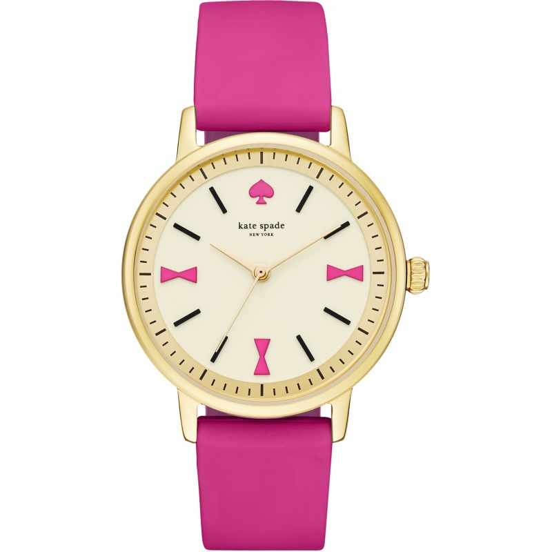 Ladies Kate Spade New York Crosby Bow Marker Watch