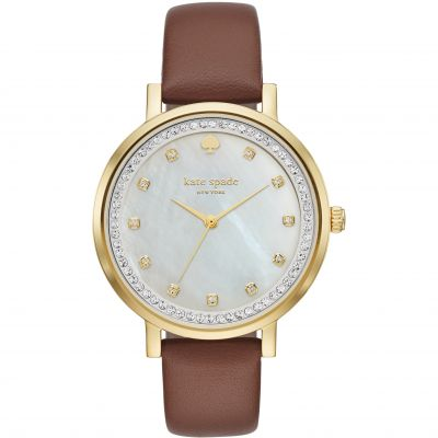 Kate Spade New York Monterey Dameshorloge Bruin KSW1050