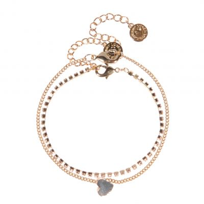Bijoux Femme Johnny Loves Rosie Heart Bracelet Cracker JLR-CRACKER-RED
