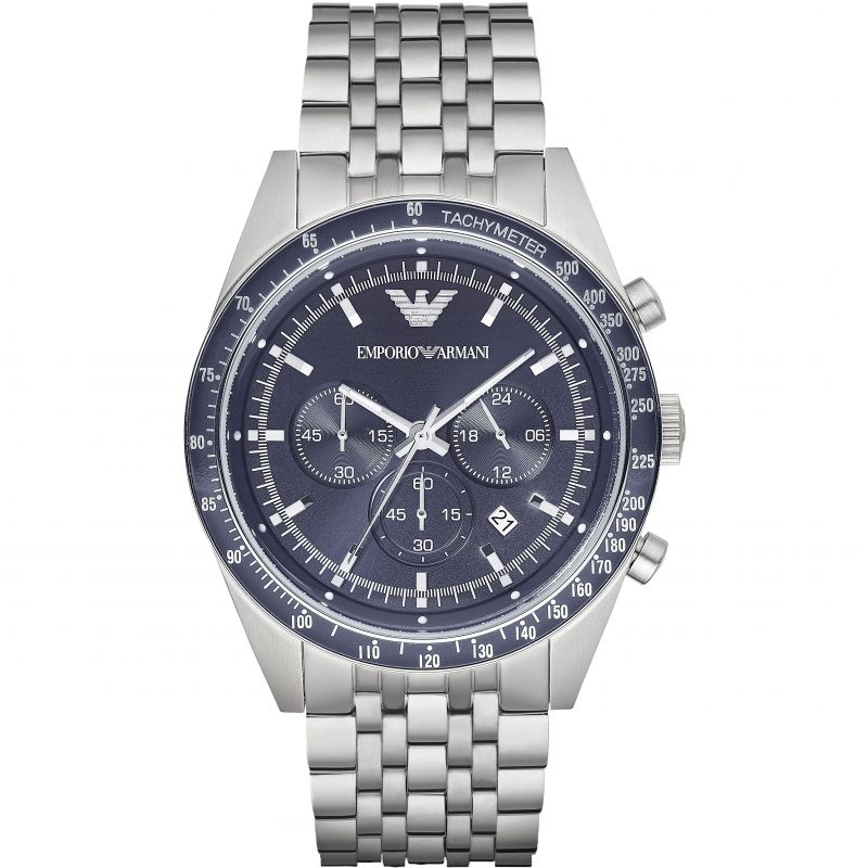 Mens Emporio Armani Chronograph Watch AR6072