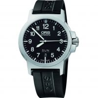 Mens Oris BC 3 Advanced Day Date Automatic Watch 0173576414164-0742205