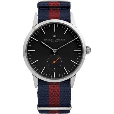 Smart Turnout Signature Herrenuhr in Blau STK3/BK/56/W-HD