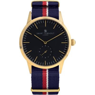 Smart Turnout Signature Herrenuhr in Blau STK3/GO/56/W-RN