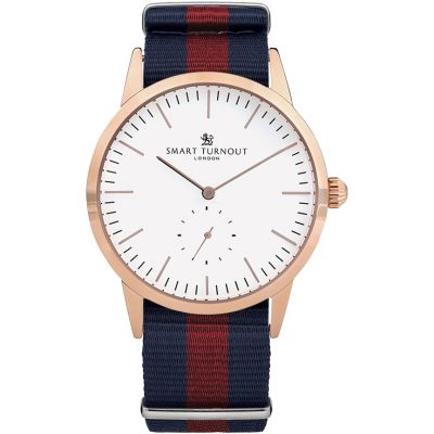 Smart Turnout Signature Herrenuhr in Blau STK3/RO/56/W-HD