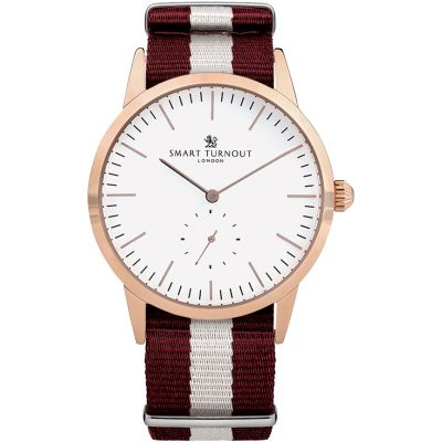 Smart Turnout Signature Herrenuhr in Rot STK3/RO/56/W-HARV