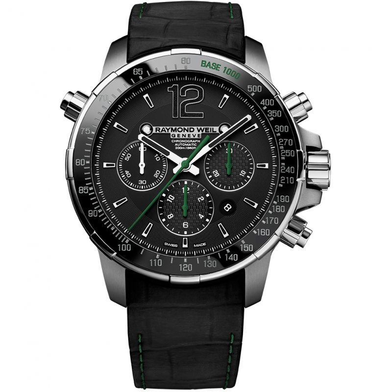 Mens Raymond Weil Nabucco Automatic Chronograph Watch