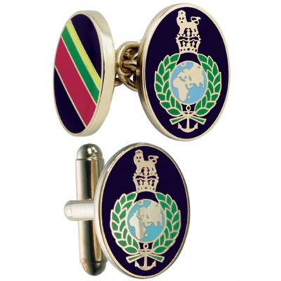 Bijoux Homme Smart Turnout Cufflinks Military RM/40-TB