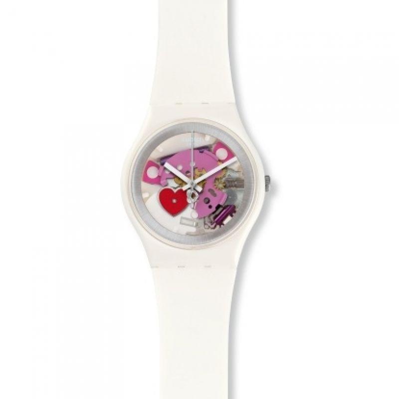 Image of            Unisex Swatch TENDER PRESENT Watch