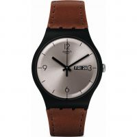 Mens Swatch LONELY DESERT Watch SUOB721