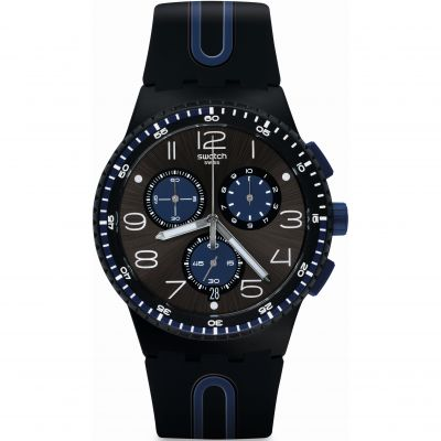 Swatch KAICCO Herenchronograaf Blauw SUSB406